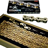 New YBN SLA 210 Titanium 10 Speed Bike Chain in box for SHIMANO SRAM CAMPAGNOLO