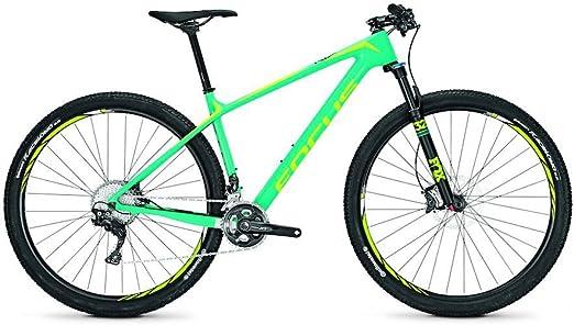 Focus Raven Lite Deore XT 22G - Bicicleta de montaña (29, altura del marco: 50), color turquesa: Amazon.es: Deportes y aire libre