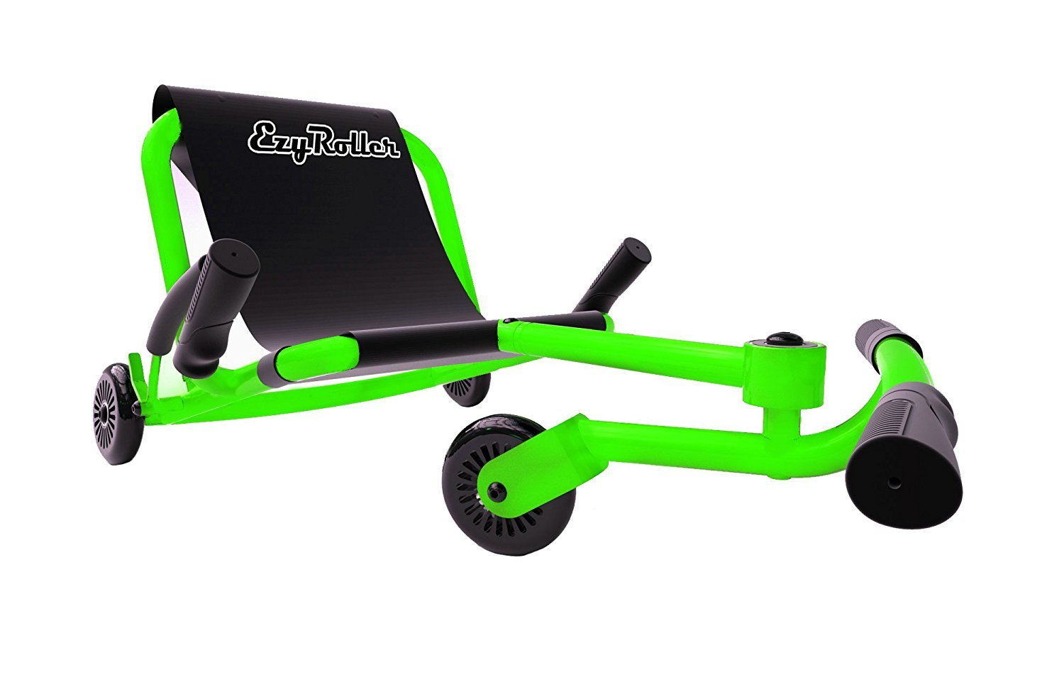 EzyRoller Ride On Toy - New Twist On A Classic Scooter - Neon Green