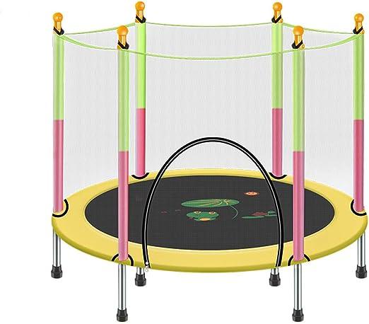 MMM@ Trampolín para niños con Redes de protección Cama elástica ...