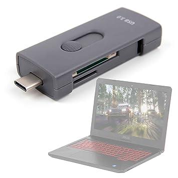 DURAGADGET Lector de Tarjetas SD y Micro SD con conexión USB ...