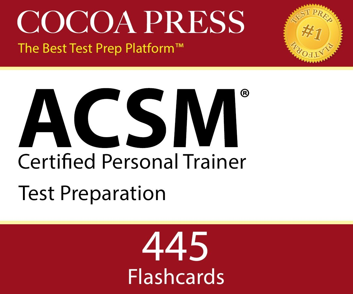 Acsm certified personal trainer flashcards by cocoa press acsm certified personal trainer flashcards by cocoa press essentials of the cpt exam test prep kelvin beecroft 9780997680010 amazon books 1betcityfo Gallery
