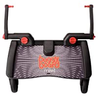 Lascal Maxi BuggyBoard, Compatible With 99% of Pushchairs, Black