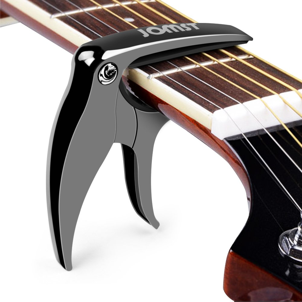 Cejilla Guitarra Capo para Guitarra Electrónica Clásica Acústica Aleación de zinc Fácil de poner,duradero,Muy Robusto y Rápido de colocar Sin ...