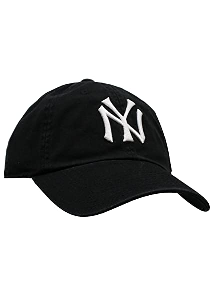 74beb6adf Amazon.com : American Needle New York Yankees Ballpark Hat in Black :  Clothing