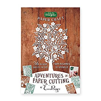 adventures in paper cutting series one papercut templates designs