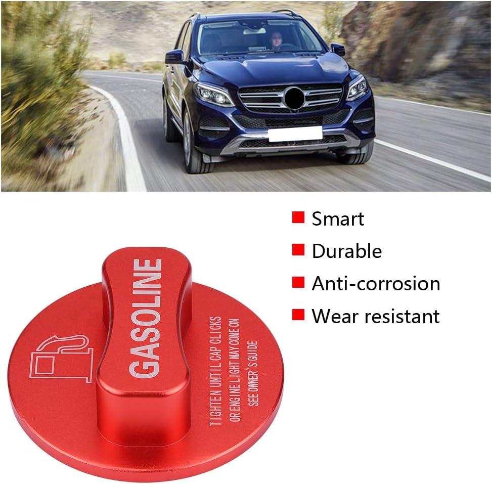 Akozon Auto Benzindeckel Benzin Kraftstofftank Dekoration Deckeldeckel Verkleidung Universal f/ür A B C E S CLA GLA GLK GLC Klasse W204 W205 W212 W213 W176 W222 X253 rot