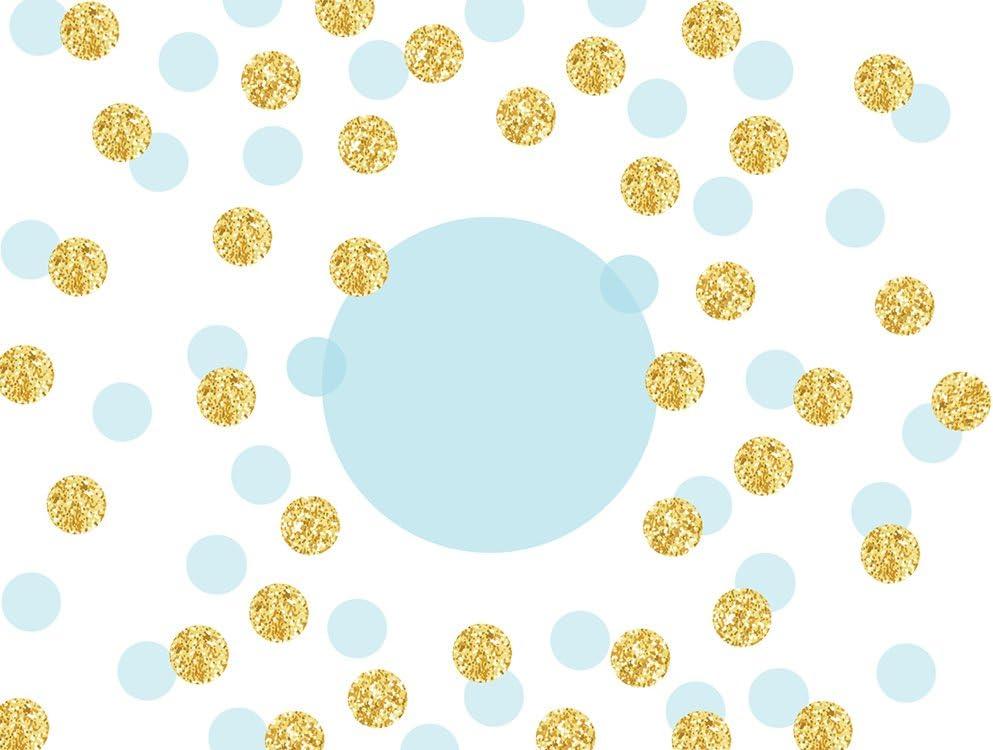 Muzi Photography Hintergrund Golden Und Blau Spots Kamera