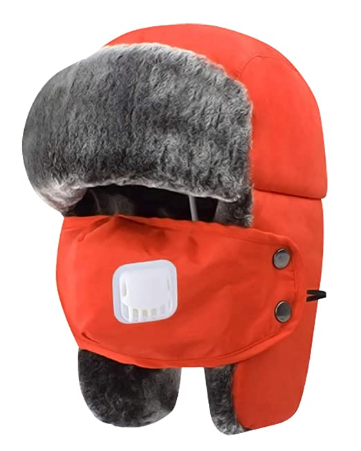 51bb580a84585 Amazon.com  AIEOE Unisex Winter Windproof Hat Warm Faux Fur Hat for Hunting  Skiing Yellow Large  Clothing