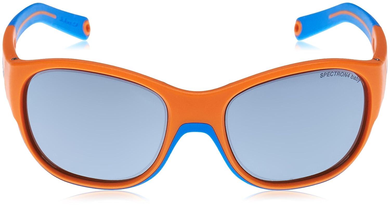 Julbo Luky Occhiali da Sole Unisex Bambino Arancione//Blu Ciano