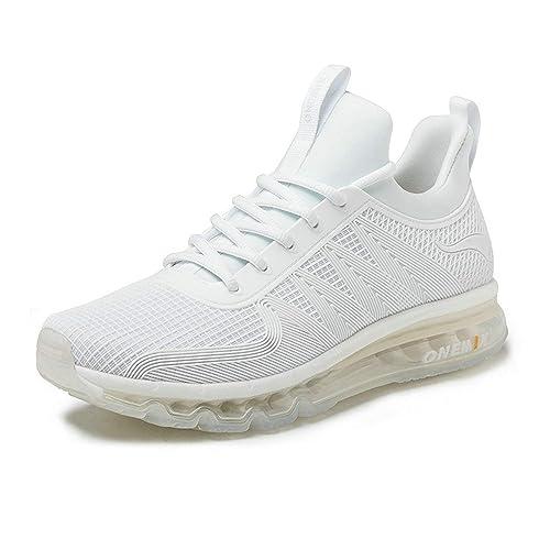 Onemix Air Deportes Zapatillas De Running para Hombre Aire Libre Respirable Zapatos para Correr: Amazon.es: Zapatos y complementos