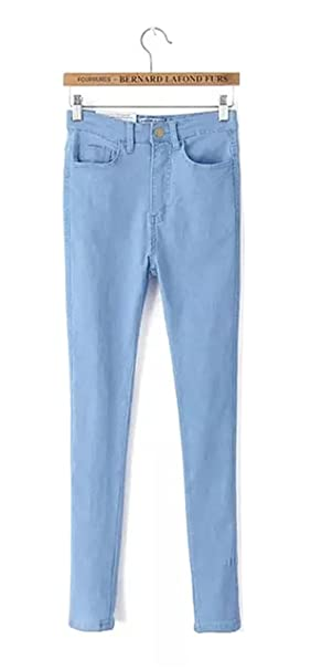 Amazon.com: High Waist High Elastic Jeans Women Hot Sale ...
