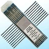 "61EVHRLMu L. SL160  - 10 pcs of .040"" 7""(1.0175mm) Gray WC20,2% Ceriated Tungsten TIG Electrode (ETA:7-12 WORK DAYS)"