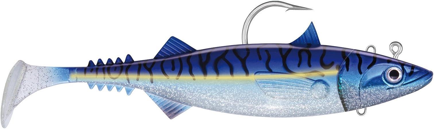 The Mackerel 18cm Green Mackerel Jackson Gummifisch montiert Norwegen Köder