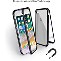 Mangotek Protective Aluminum Alloy Tempered Glass Case for iPhone 8/7 (Several Colors)