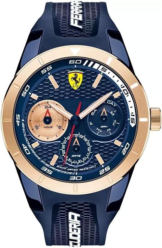 Ferrari Scuderia Rubber Mens Watch 0830379 Amazon De Uhren