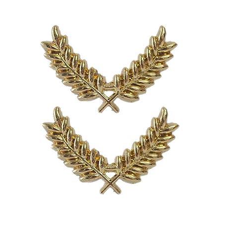Yi-Achieve Escudo Broche Retro Regalo de la Manera joyería de la Bufanda del Trigo Pasadores de Spike Solapa la Insignia del Pin de Las Mujeres para ...