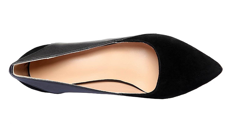 Zapatos Vaneel 7cm Embudo Qcfusw Tacón Cuero Mujer De Ponerse 8nOPwk0