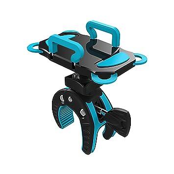 posunitech moto teléfono soporte para teléfono, motocicleta, Universal teléfono celular manillar de la bicicleta y motocicleta soporte soporte con rotación ...