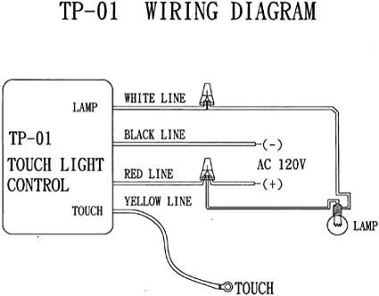 touch dimmer wiring diagram zing ear tp 01 zh touch lamp light dimmer switch control sensor  tp 01 zh touch lamp light dimmer switch