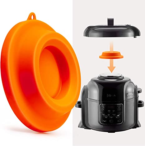 Silicone Lid Stand Holder for Ninja Foodi Compatible Pressure Cooker Air Fryer