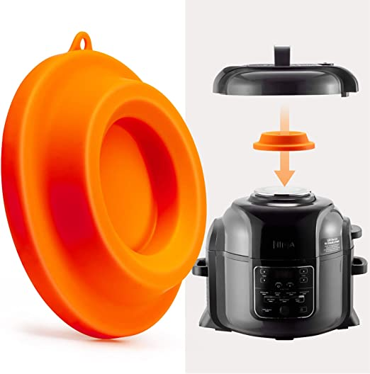 Amazon Com Goldlion Lid Stand Silicone Lid Holder Accessories Compatible With Ninja Foodi Pressure Cooker And Air Fryer 5 Qt 6 5 Qt And 8 Quart Orange Kitchen Dining,700 Square Feet House Plans