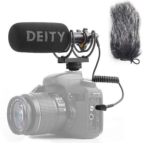 Deity V-Mic D3 Video Mic Micrófono para cámaras réflex Digitales, videocámaras, Smartphones, tabletas, grabadoras prácticas con Pergear Deadcat Parabrisas, Adaptador de Zapato de código: Amazon.es: Electrónica
