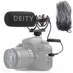 Deity V-Mic D3 Super-Cardioid Directional Shotgun Microphone with Rycote Shockmount and PERGEAR Cloth for DSLRs, Camcorders, Smartphones, Tablets, Handy Recorders, Laptop and Bodypack Transmitters