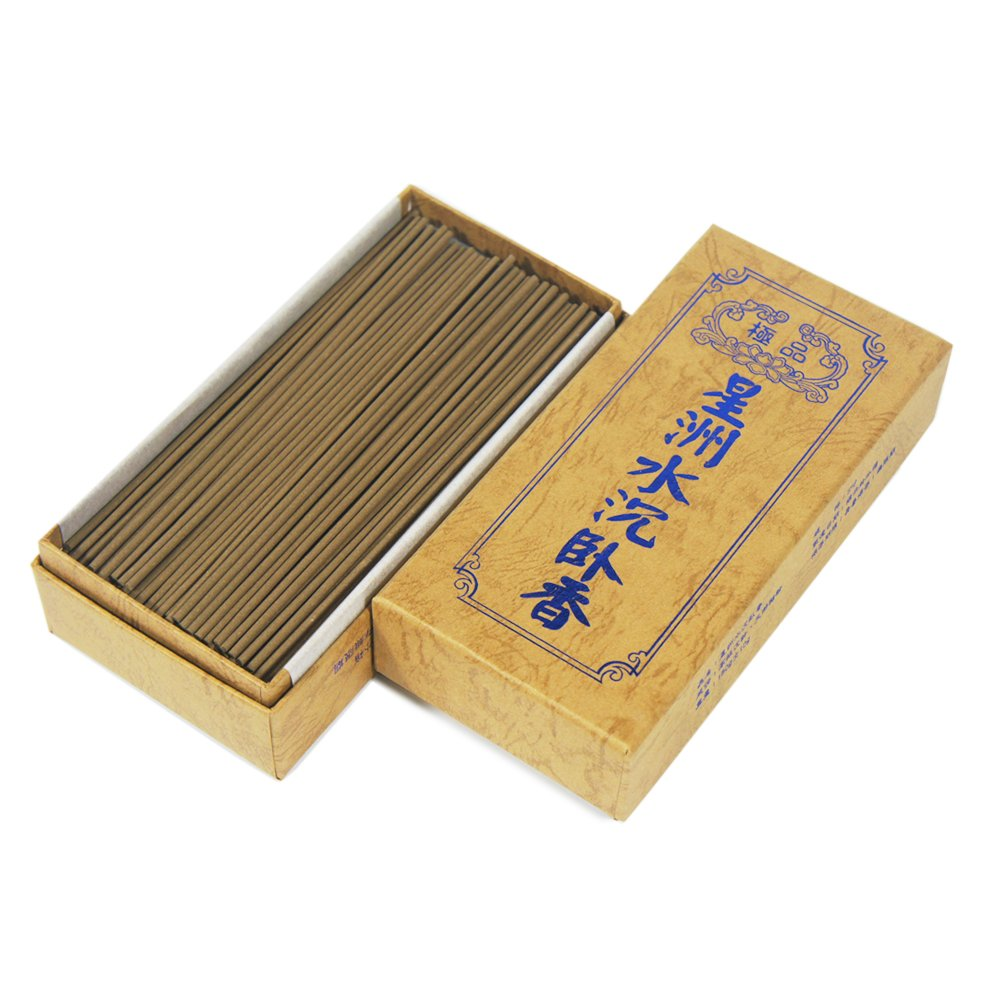ShinZuo Aloes Agarwood Incense Sticks 6'' 5 Ounces 300 Sticks