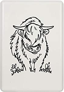 Azeeda 'Highland Cow' Fridge Magnet (FM00021055)