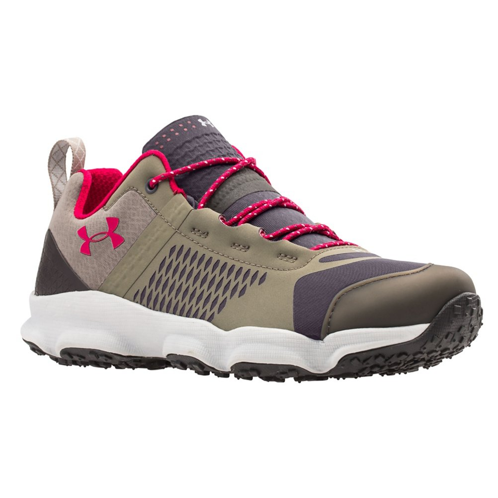 Under Armour UA Speedfit Hike Low Shoe - Womens Charcoal / Stoneleigh Taupe / Fury 10