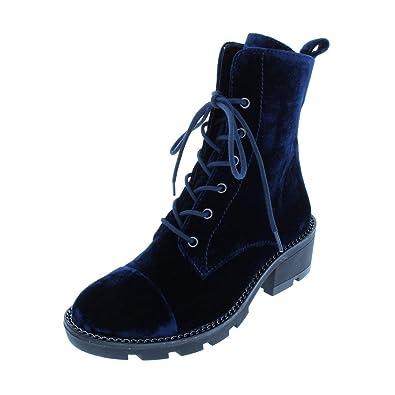 b51c447e2 Amazon.com | KENDALL + KYLIE Women's Park Combat Boot | Ankle & Bootie