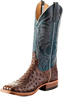 product image for Anderson Bean S3004 Men's Square Toe Kango Tabacco Mad Dog Full Quill Ostrich Boots S3004