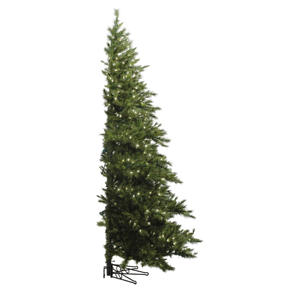 Vickerman Westbrook Half Tree with Dura-Lit 400 Clear Lights, 6.5-Feet by 52-Inch