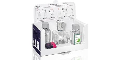 Lampe Berger 3098 Coffret Essentielle Carree Diffuseur De Parfum Et