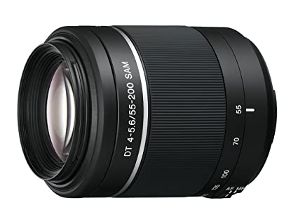 23bde396d Amazon.com : Sony 55-200mm f/4-5.6 SAM DT Telephoto Zoom Lens for ...