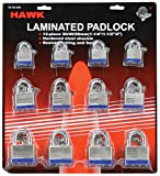 30/40/50mm Laminated Gate Padlock 12-piece Set : ( Pack of 2 pcs )