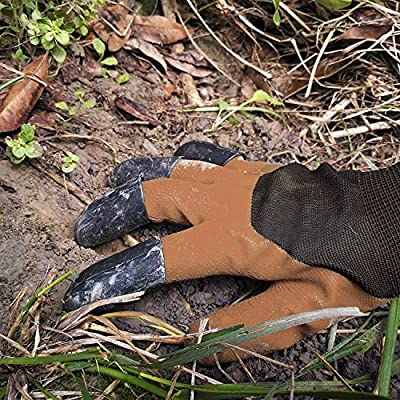 Garden Genie Gloves 2 Pack for Rose Pruning, Digging and Spreading Soils (Both Claws 1 pair, Right Hand Claw 1 Pair)