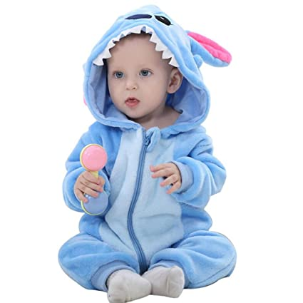2d0afcfe8063 Amazon.com  Unisex-baby Romper Animal Onesie Costume Cartoon Outfit ...