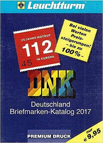 Dnk Deutschland Briefmarkenkatalog 2017 Deutschland Seit 1849