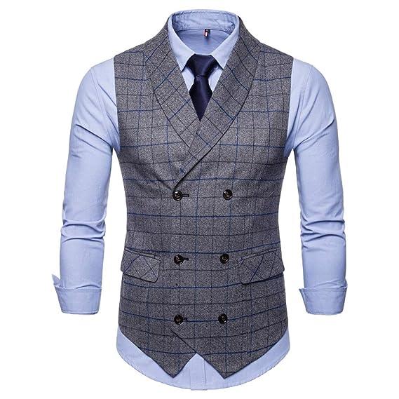 neue Karierten Männer Anzüge 2018 Herren herren Mode Blazer XkOP0w8n