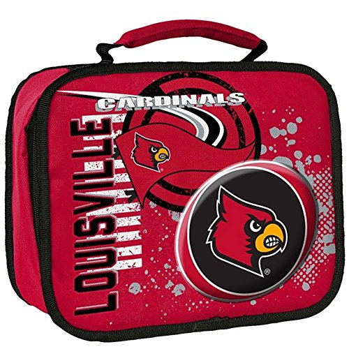 The Northwest Company NCAA University of Louisvills Accelerator Lunch Kit, One Size, Black (Louisville Cardinals Lunch)