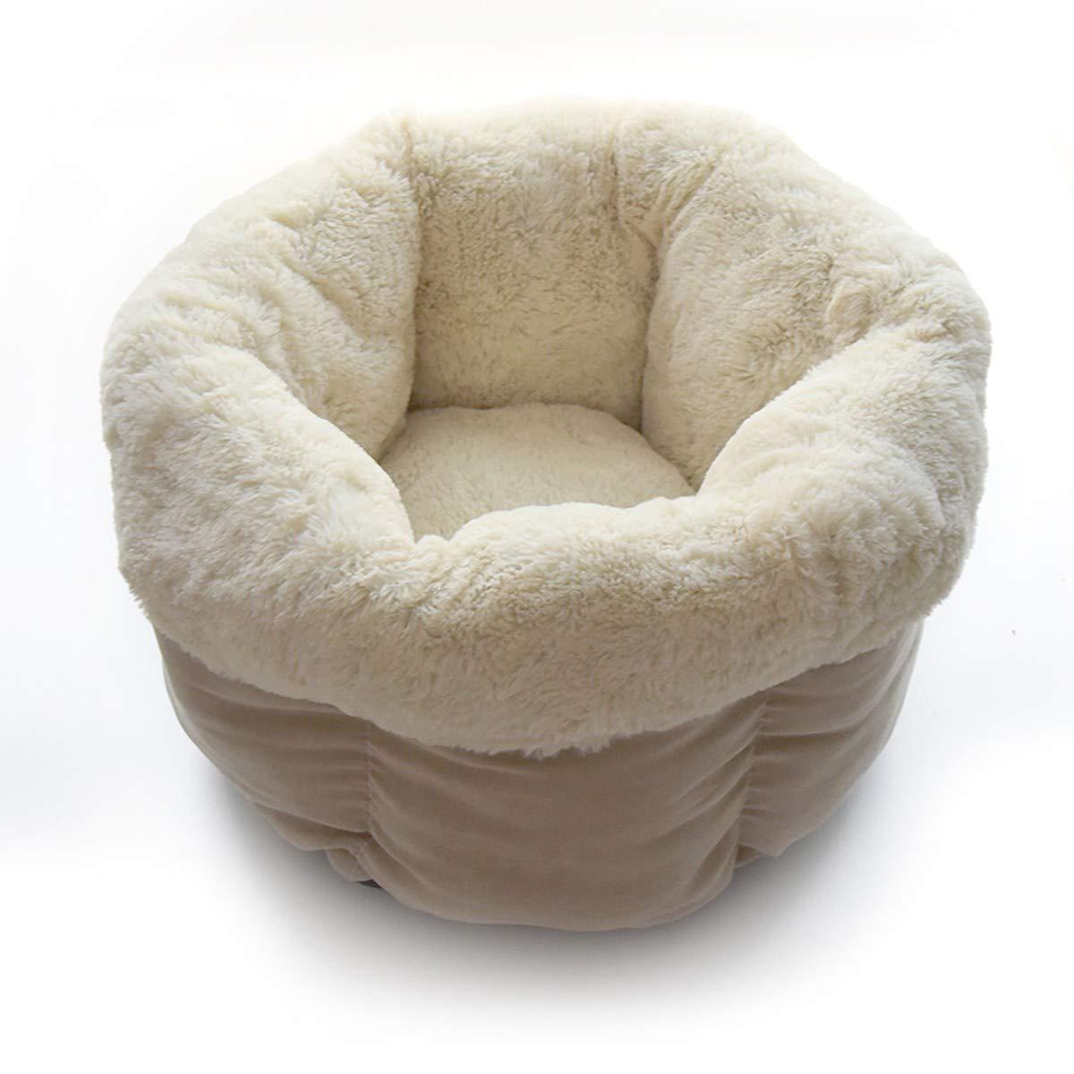LBTSQ-Four Seasons Caliente Cerrado Cat'S Nest Sleeping Cat Sleeping Bag Casa Tienda Perro De Nido Pet Supplies Pet Nido General Purpose Un