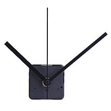 351c32270ab WINOMO Kit movimento orologio silenzioso per sostituzione orologio fai da  te (nero)  Amazon.it  Casa e cucina