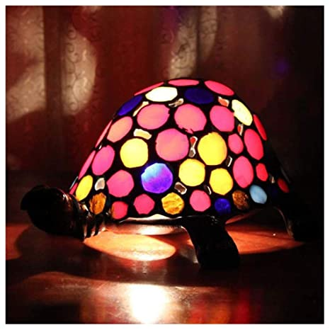 Lámpara de mesa europea retro color turtle - bar/casa libro ...