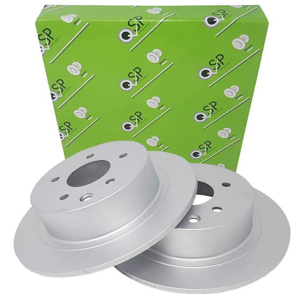 QSP Car Rear Brake Discs Set QSPWBD00182