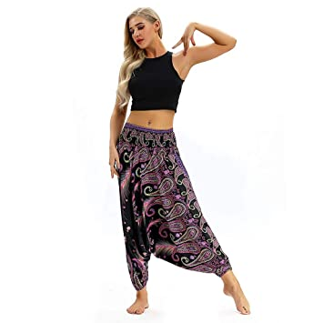 Amazon.com: Zcxaa Soft Women Casual Sportswear Loose Yoga ...