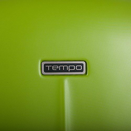Tempo Trolley 55 cm 64251 Rojo Pistacho-Plata