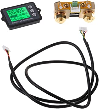 A0127 80v 350a Tk15 Präzision Batterie Tester Für Lifepo Coulomb Zähler Lcd Coulometer Baumarkt