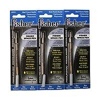 Fisher Space Pen SPR1, recambios para Bullet, azul, 3 piezas